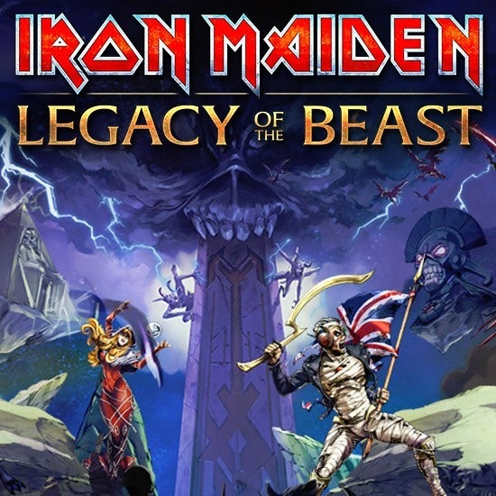 Iron Maiden Legacy Of The Beast Ign