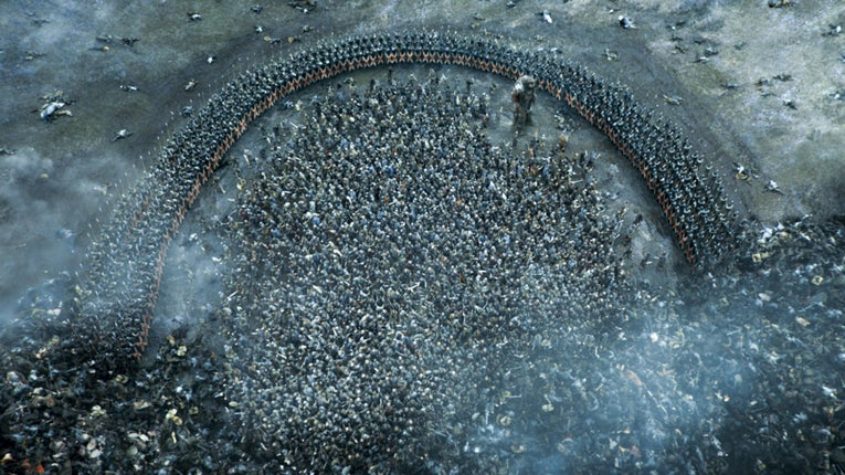 The Battle of the Bastards on Game of Thrones