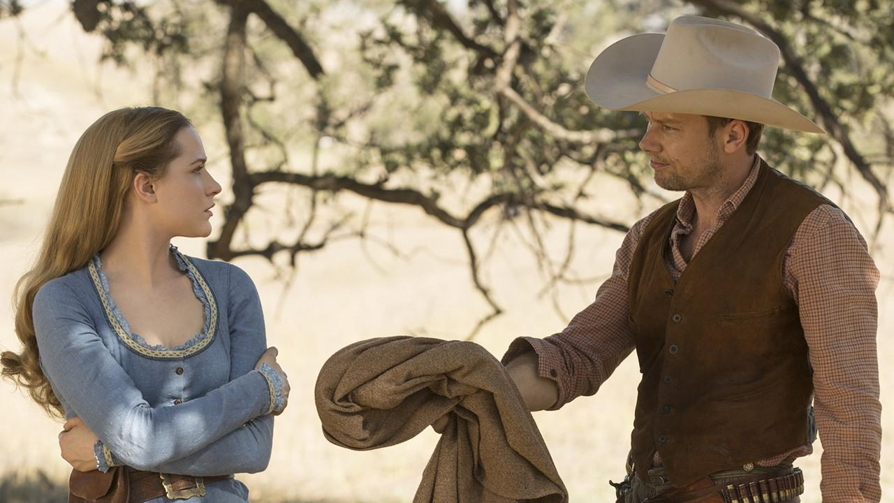 Image result for westworld dolores and william