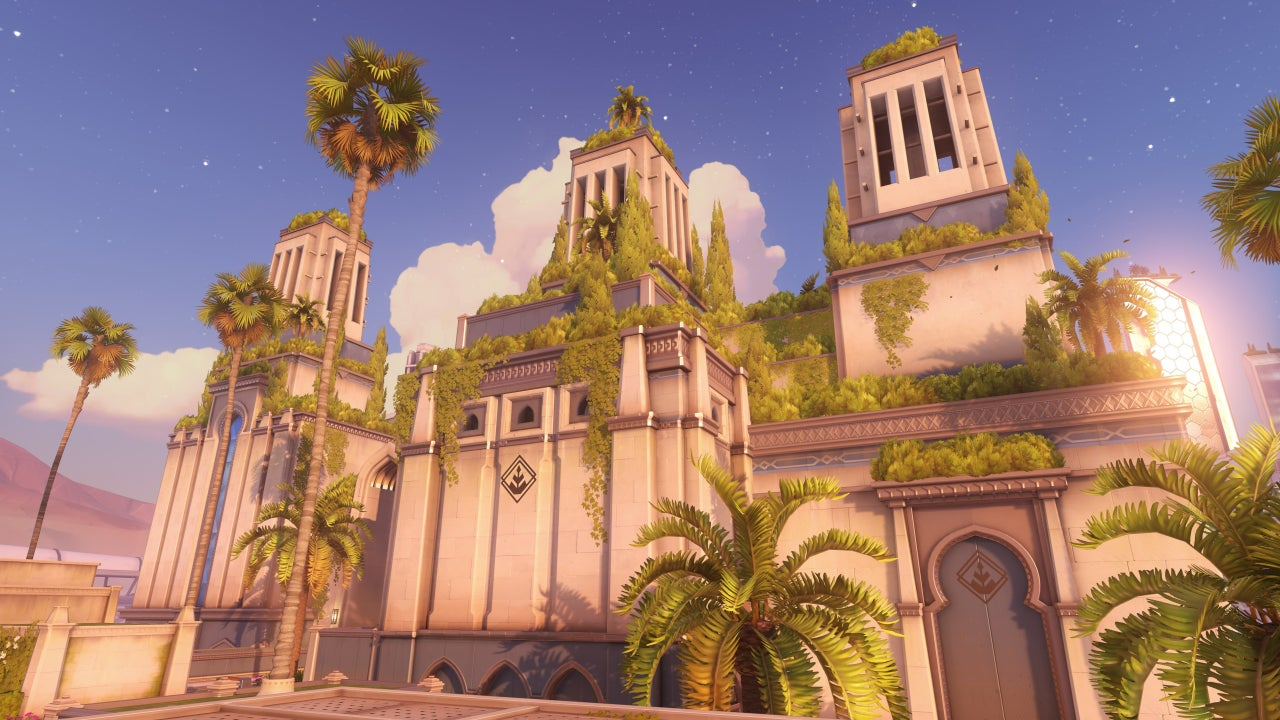 Overwatch Gets A New Control Map Called Oasis IGN