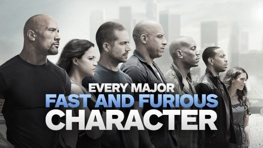 Click through for every major character in the Fast and the Furious series so far. Spoilers follow!