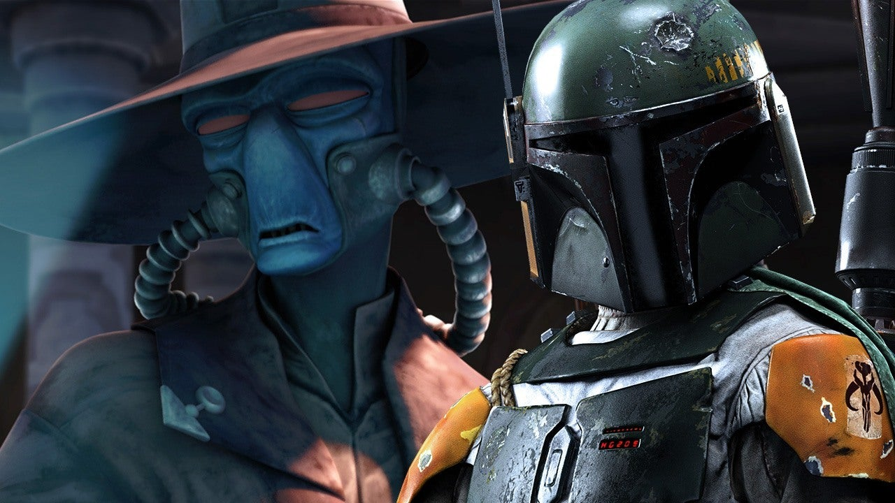 Star Wars The Clone Wars Was Going To Have A Boba Fett Cad Bane Showdown IGN