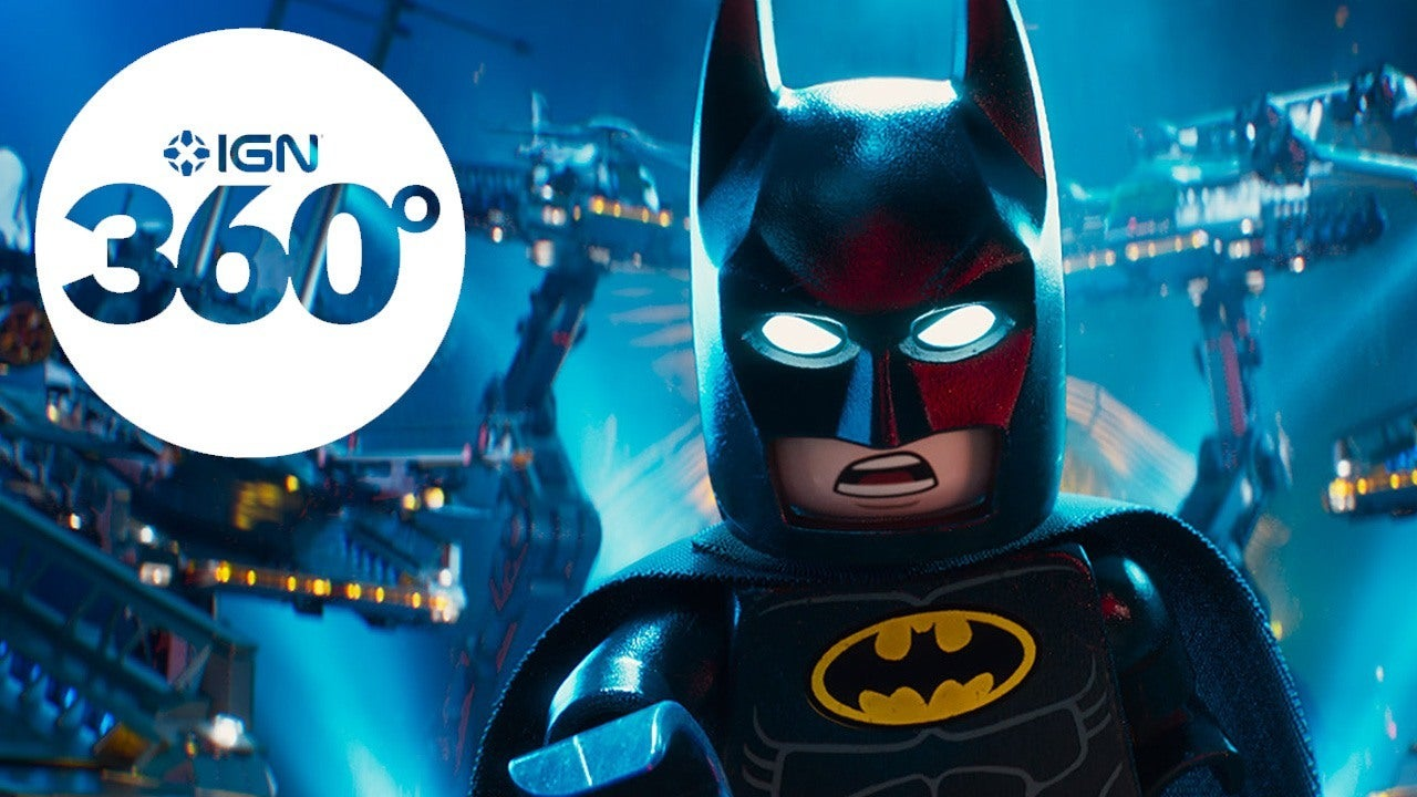 The Lego Batman Movie VR Experience IGN