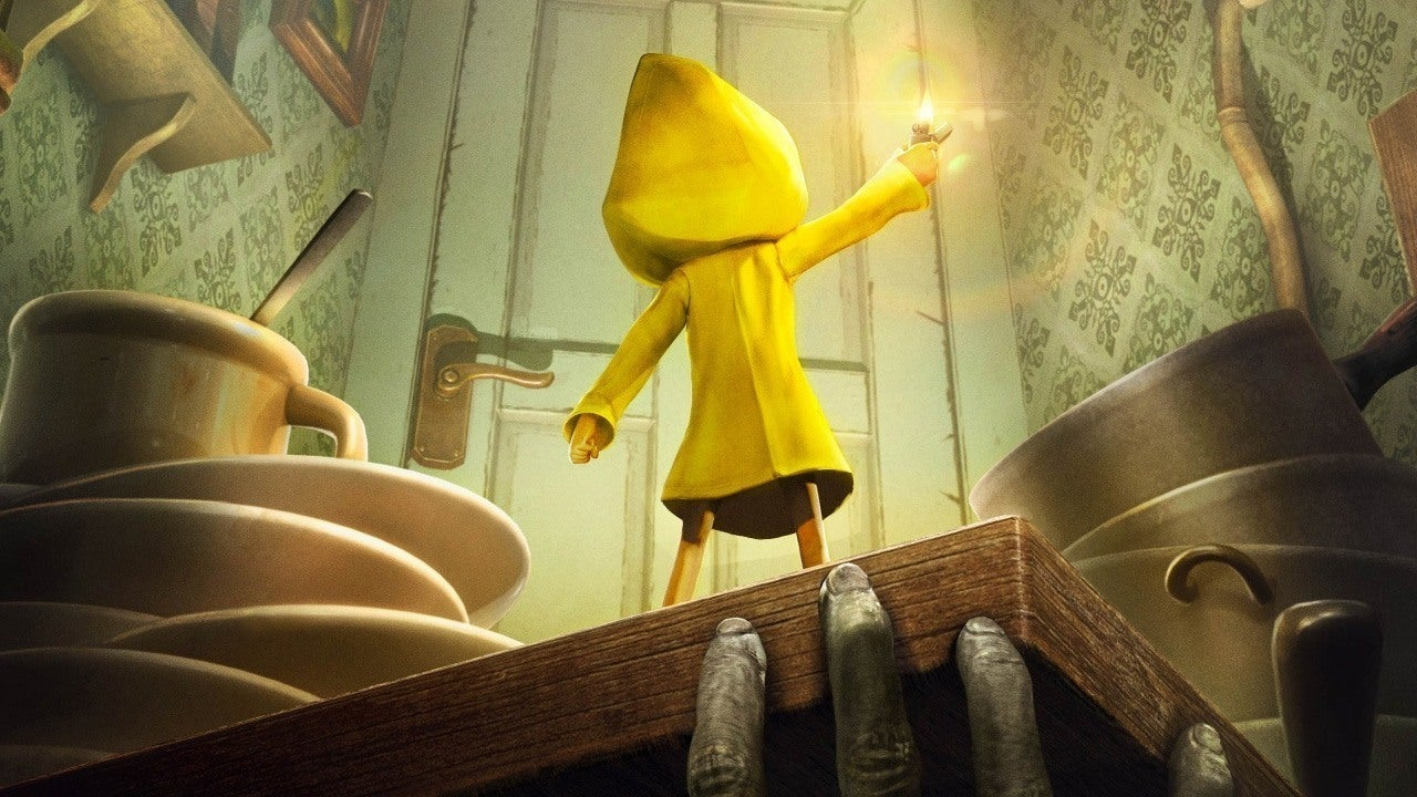 Ps3 Animated Wallpaper Little Nightmares Teases New Character Dlc Ign