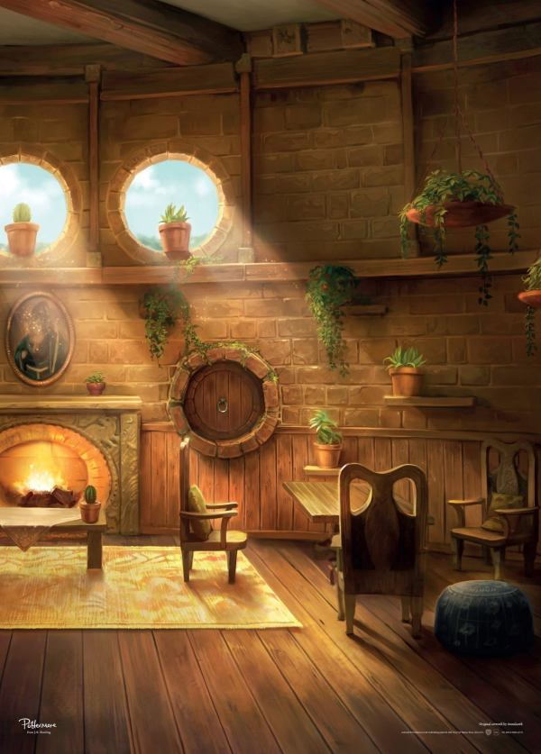 Official Harry Potter Artwork Reveals Hogwarts