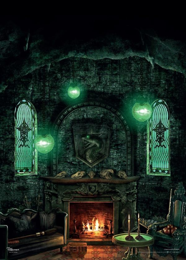 Harry Potter Slytherin Common Room