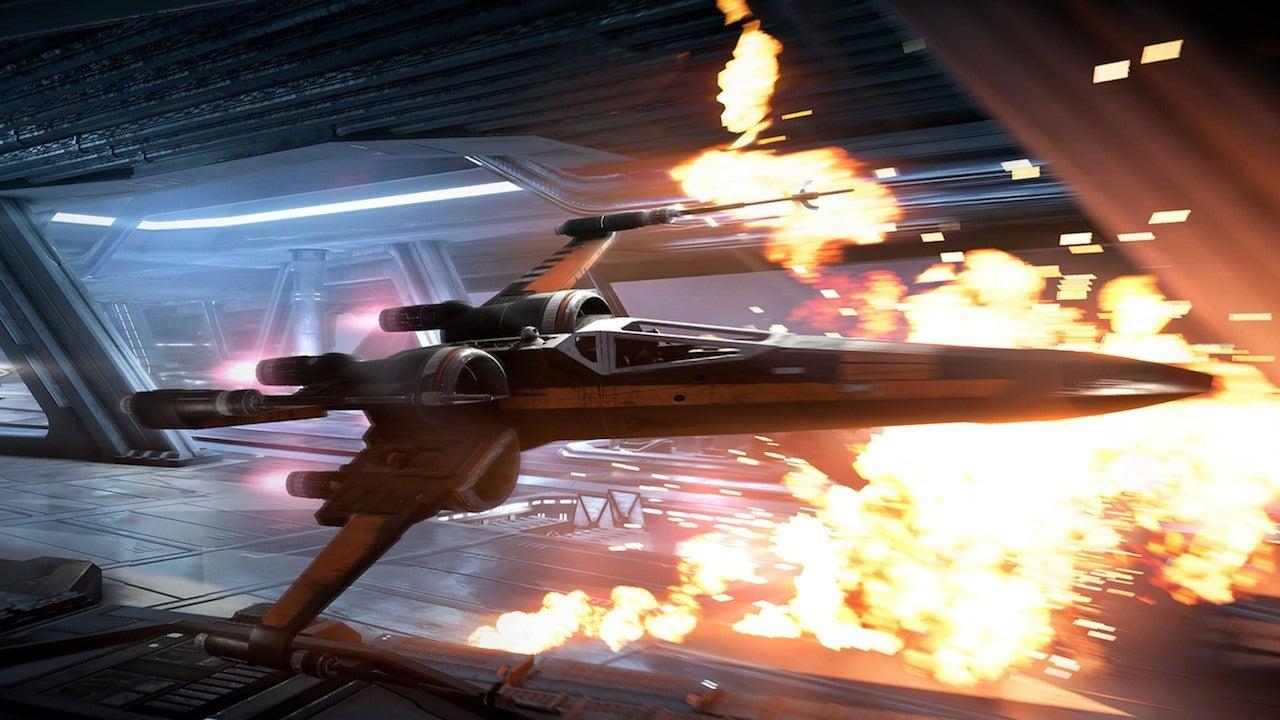 Star Wars Battlefront Wallpaper Hd Gamescom 2017 Star Wars Battlefront 2 S Space Battles Are