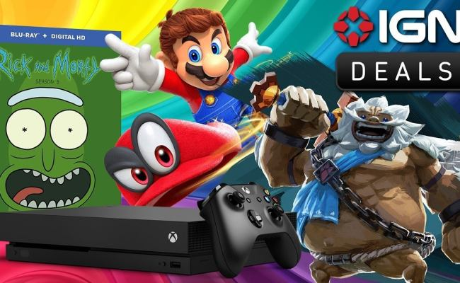 Daily Deals Xbox One X Alienware Mystery Coupon Zelda