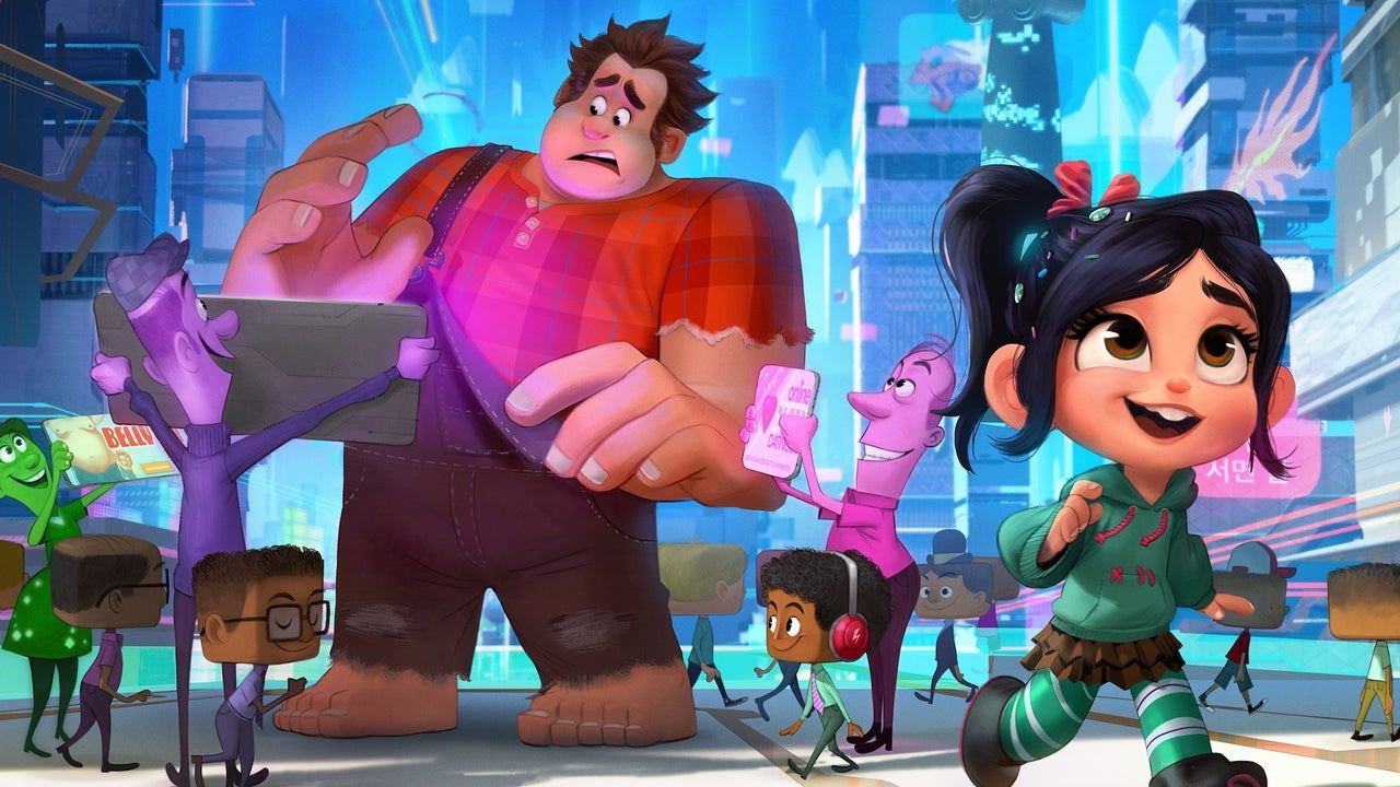 New Wreck It Ralph 2 Images Feature The Disney Princesses