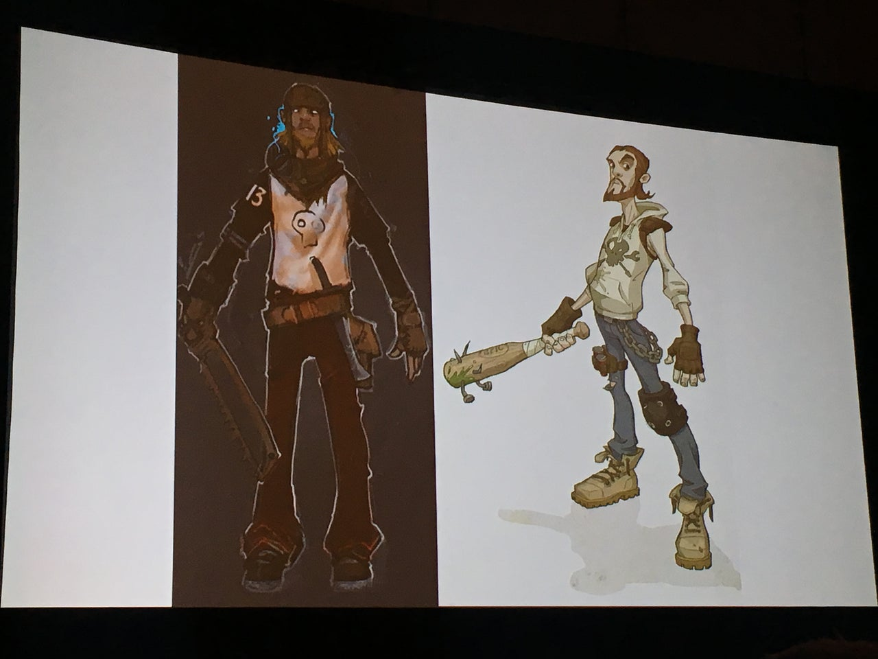 GDC 2018 30 Photos Of Awesome Fortnite Concept Art IGN