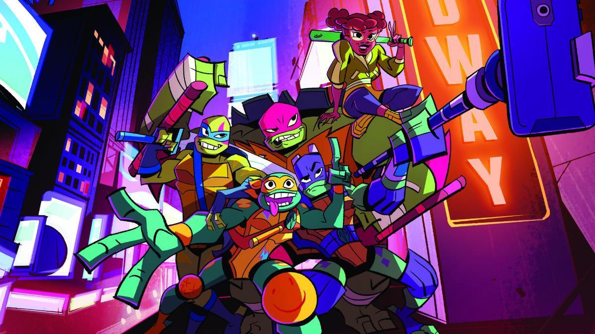 Rise Of The Teenage Mutant Ninja Turtles Trailer First Look At New Nickelodeon Series IGN