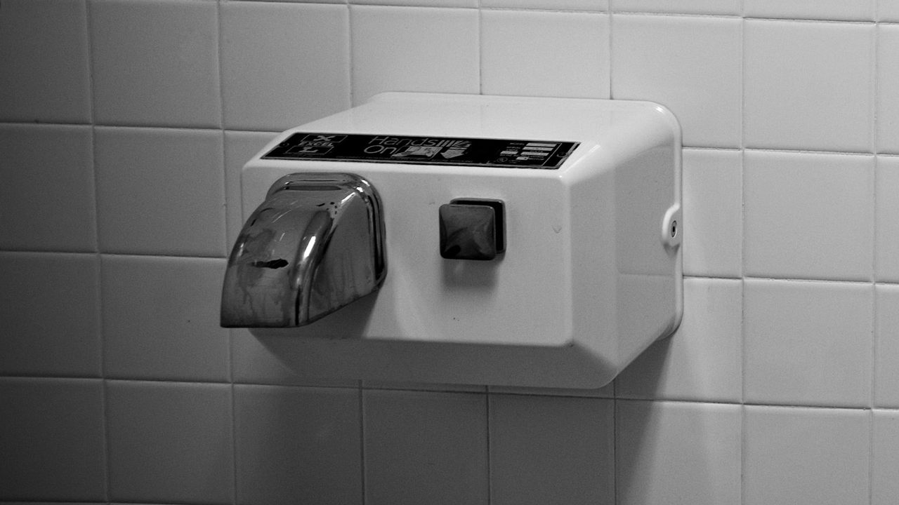 Bathroom Hand Dryers Are Spraying Hot Feces Bacteria