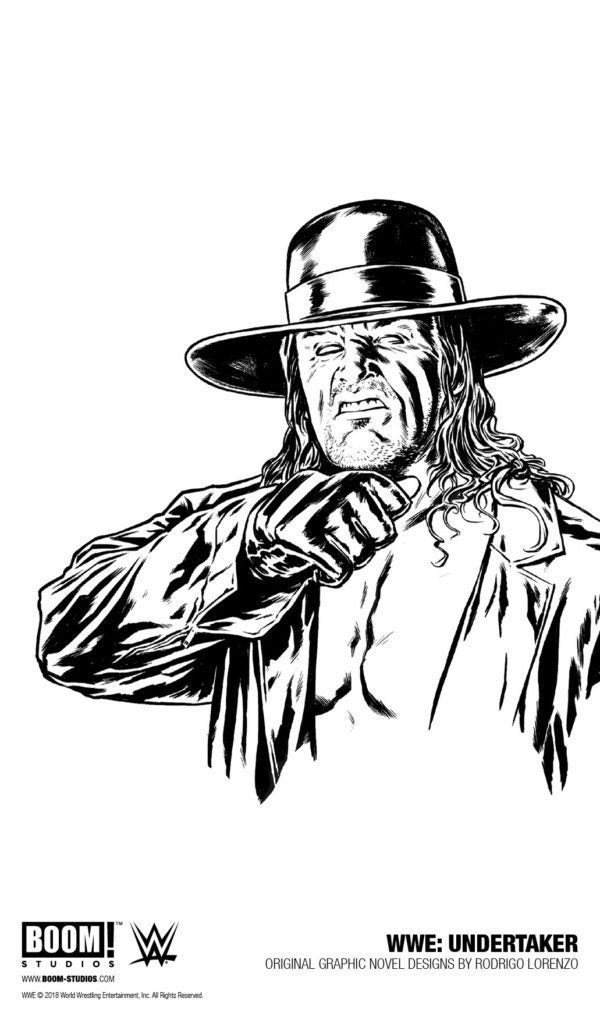 Dig Into The Undertaker's Epic Career With New Graphic