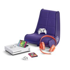 Xbox One Gaming Chairs Menards Lawn Lounge New American Girl Doll Set Comes With Pretend S And Chair