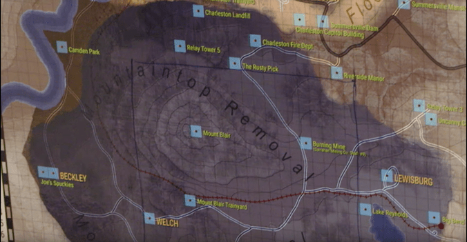 What We Know About Fallout 76 By Looking At Its Map IGN