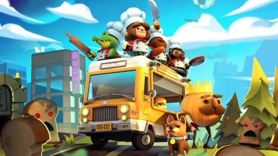 Overcooked!  Everything you can eat Coming to Switch, PS4, Xbox One and PC in March 2021