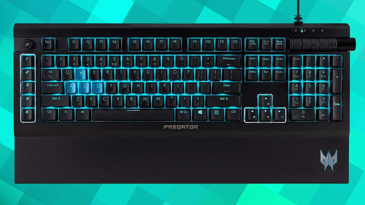 Acer Predator Aethon 500 Gaming Keyboard Review IGN