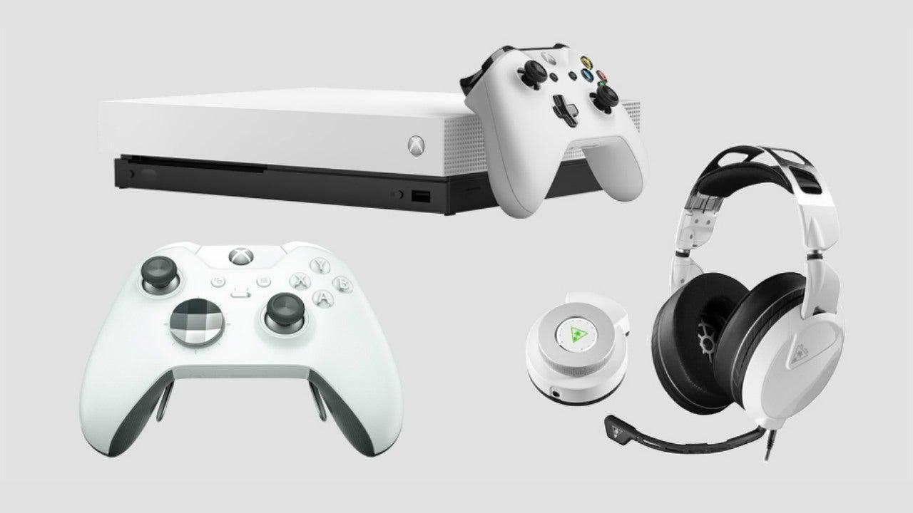 Robot White Xbox One X Fallout 76 Bundle And White