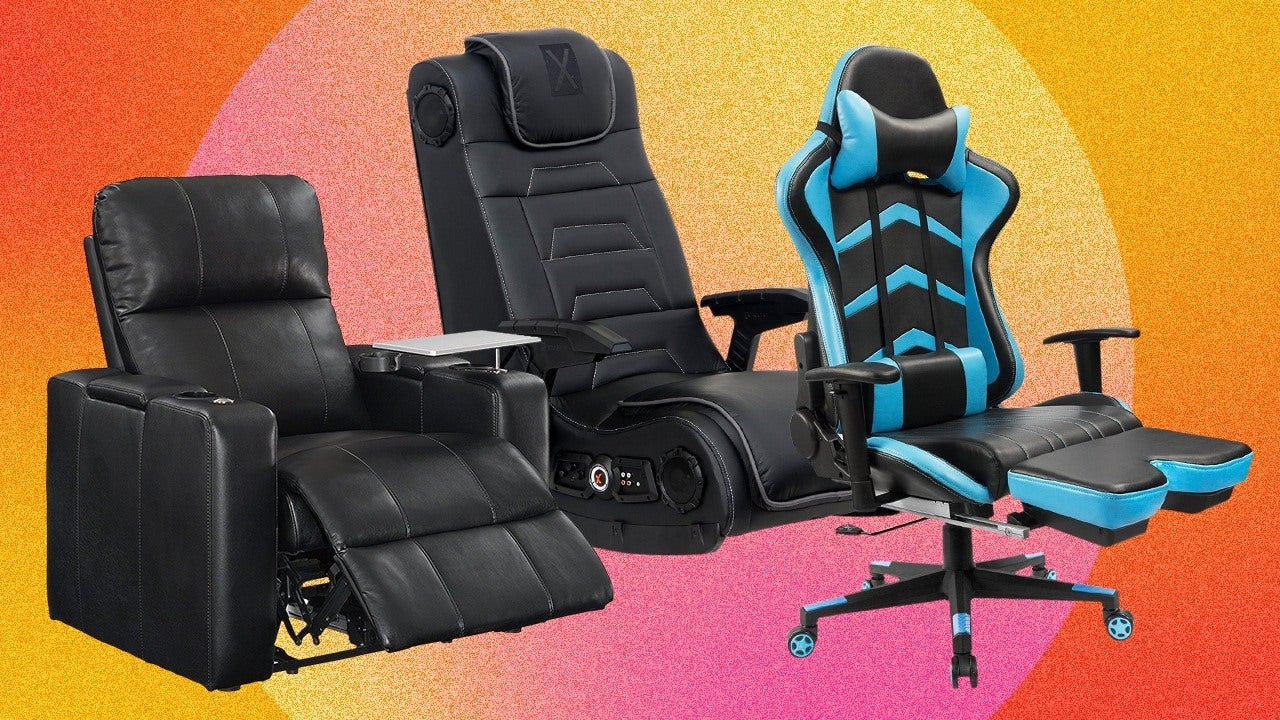 reclining gaming chair office non rolling the best chairs for xbox and playstation 4 2019 ign