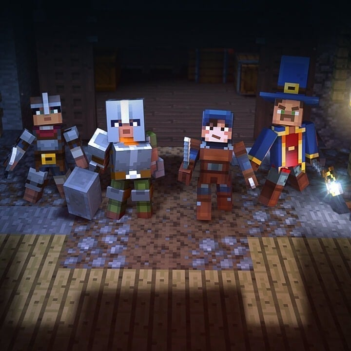 Minecraft Dungeons Announced For Pc Ign