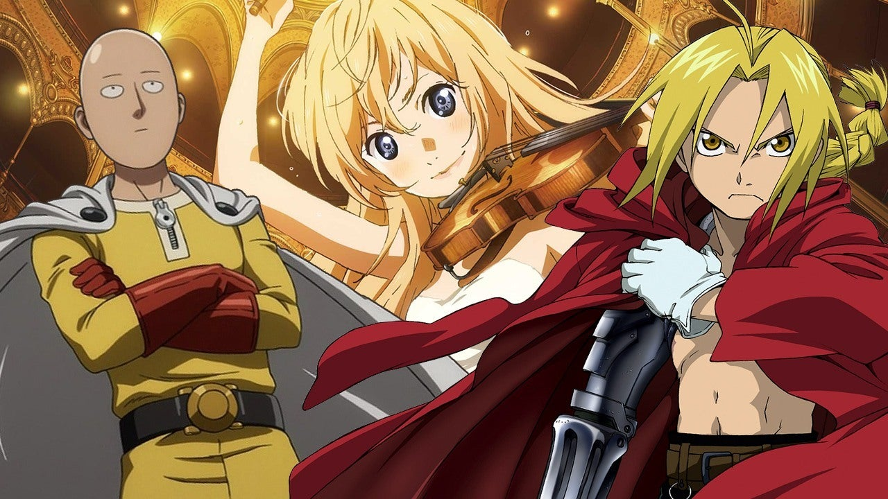 best anime series on