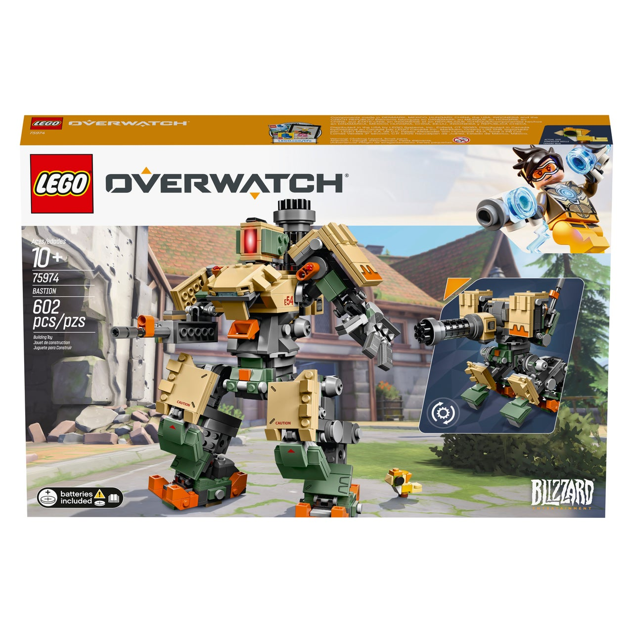 Update LEGO Overwatch Sets Officially Announced IGN