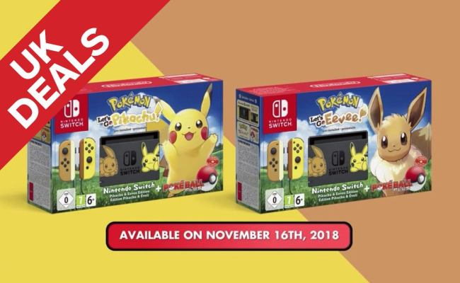 Uk Daily Deals Black Friday Deal Nintendo Switch