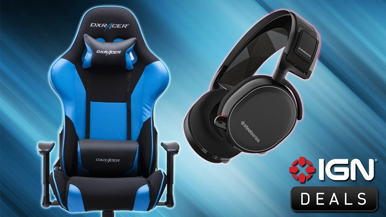 Black Friday Deals 25 off DXRacer Gaming Chair PS4 with