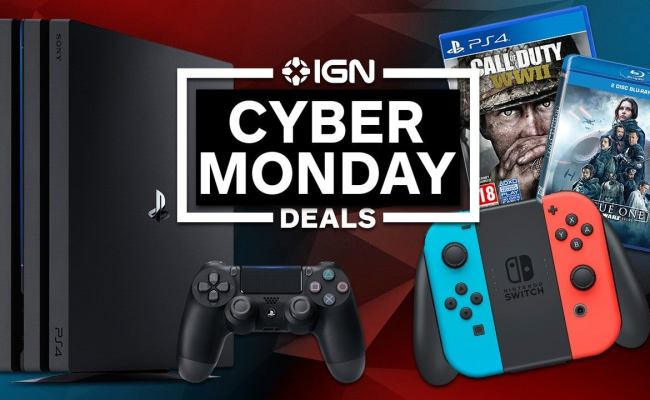 Best Cyber Monday 2018 Deals Ps4 Switch Xbox Amazon