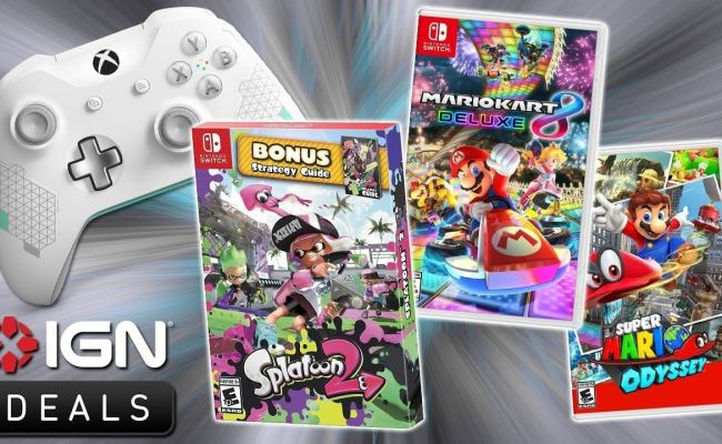 Daily Deals 25 Off The Best Nintendo Switch Games Ign