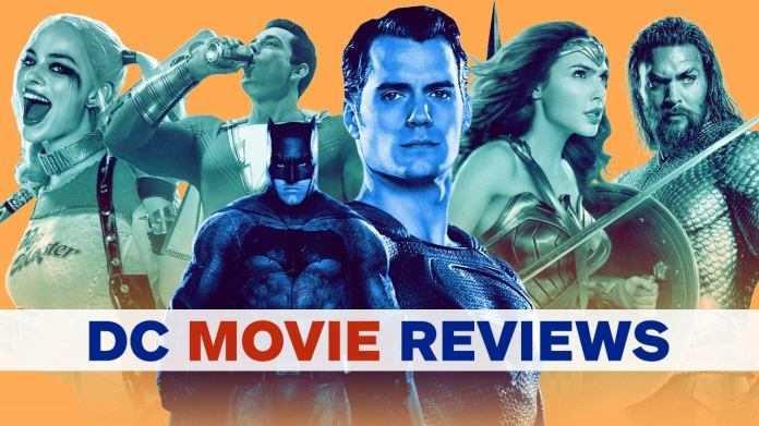 With Aquaman now on Blu-ray and Shazam! flying in theaters in early April, let's take a look at each review we made for the continuity of the current DC movie that started with Man of Steel. Let's start with the most recent movie first ...