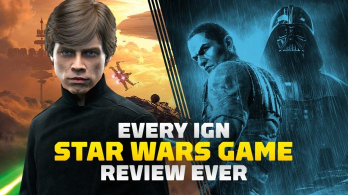 IGN has published more than 100 different Star Wars game reviews in the past two decades and we've put them together in this neat slideshow.