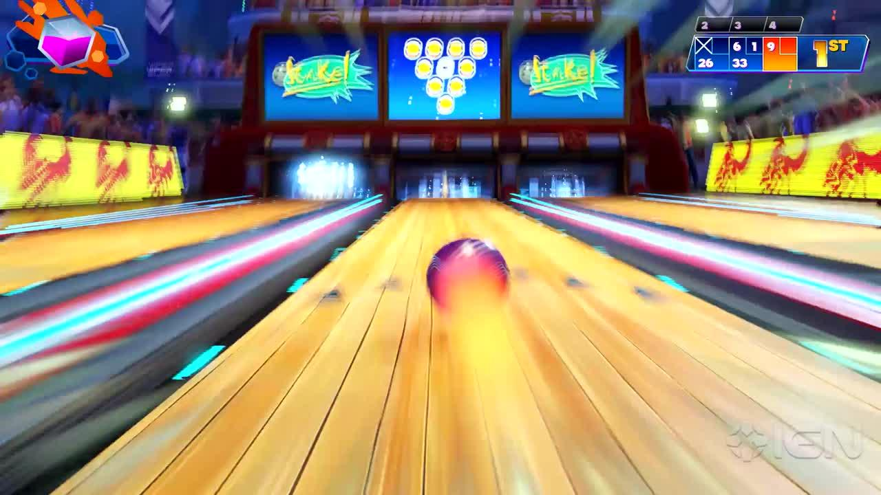 Kinect Sports Rivals Bowling Gameplay IGN Video