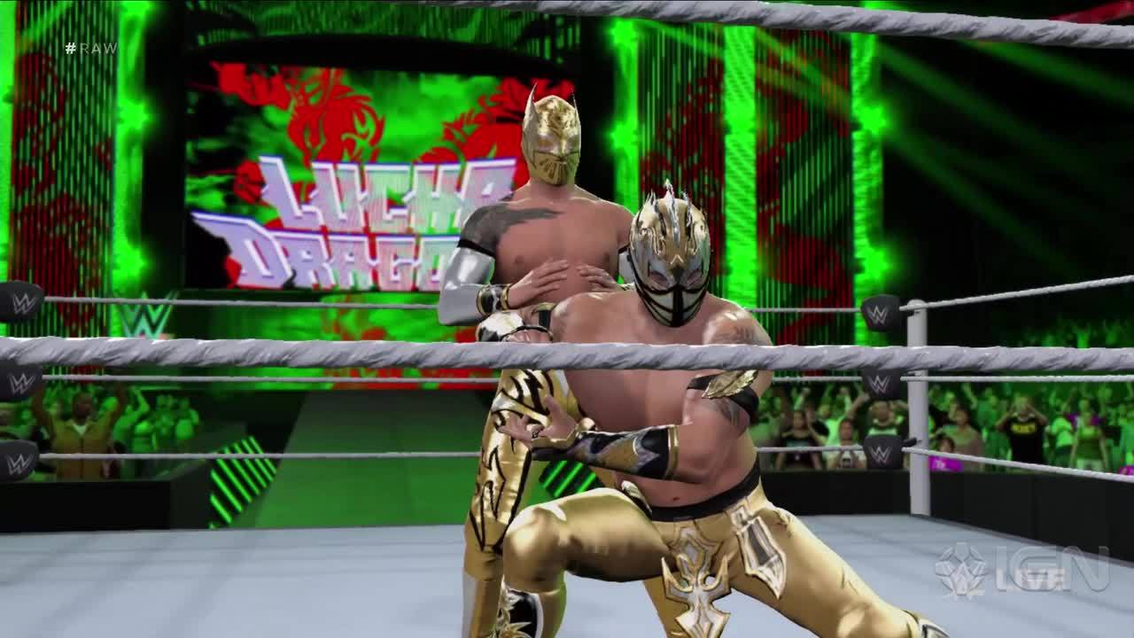 lucha dragons ring entrance