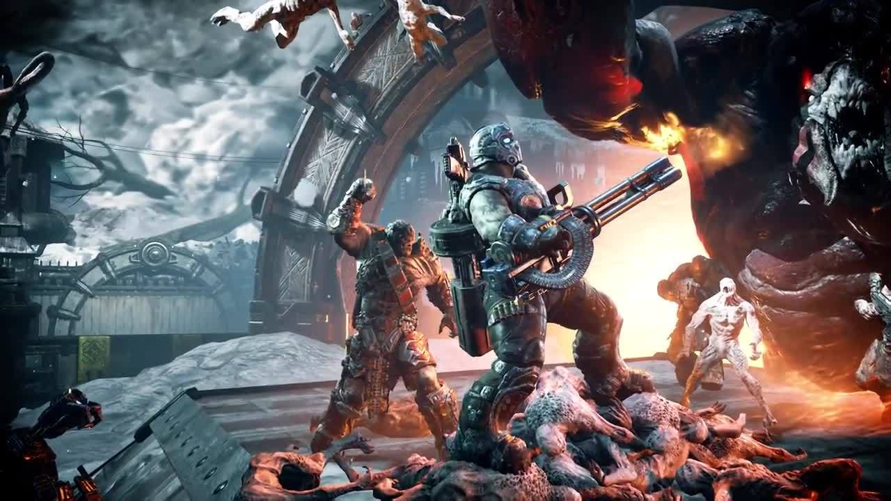 Gears Of War 4 Rise Of The Horde Official Trailer IGN Video