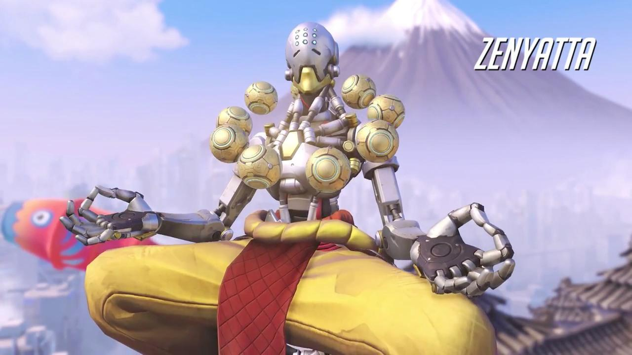Ps3 Animated Wallpaper Overwatch Zenyatta Gameplay Trailer Ign Video