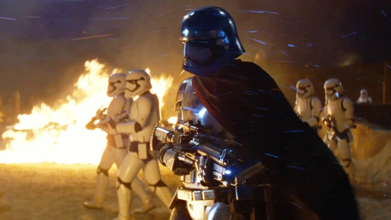The Force Awakens Captain Phasma Is A Better Shot Than Your Average Stormtrooper IGN Video