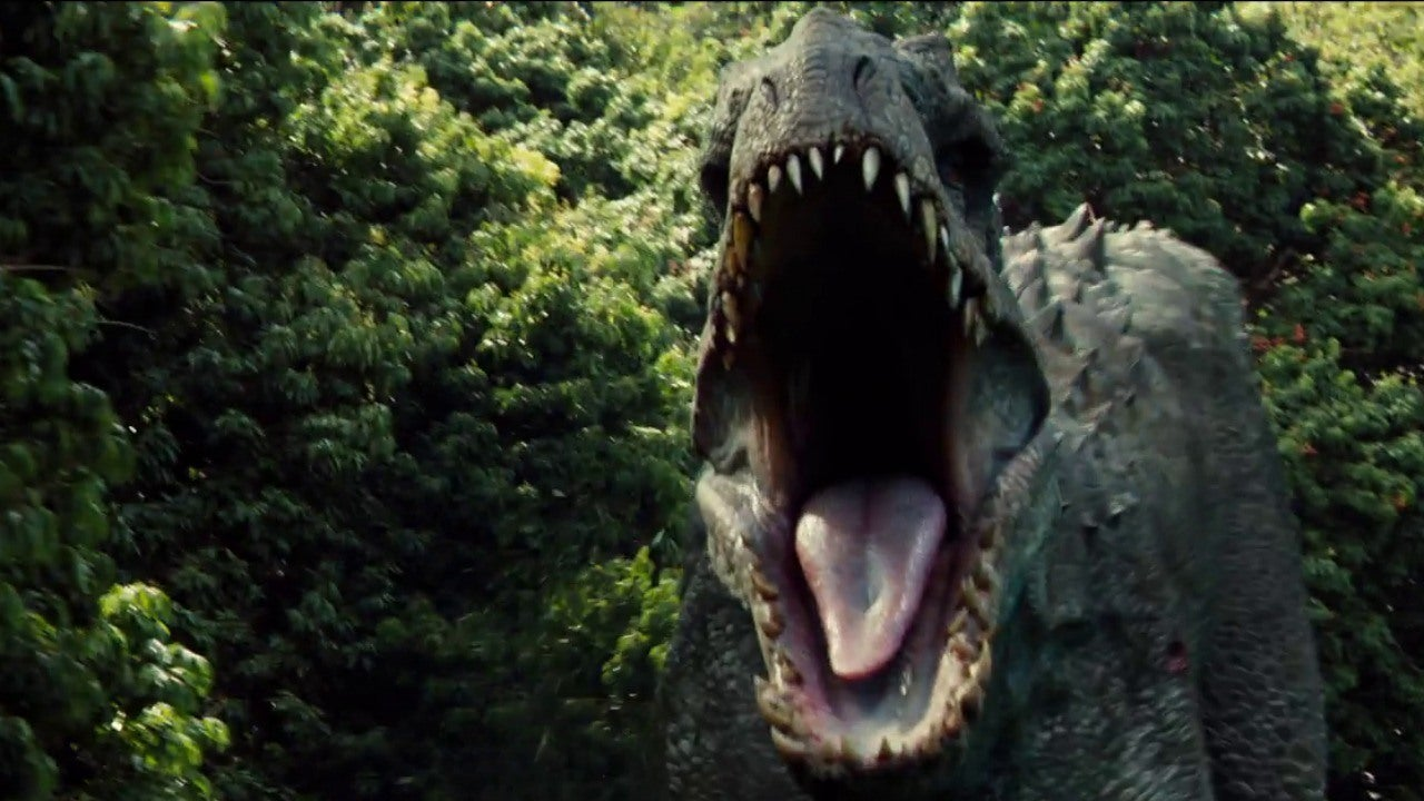 Jurassic World The Kids Run From The Indominus Rex