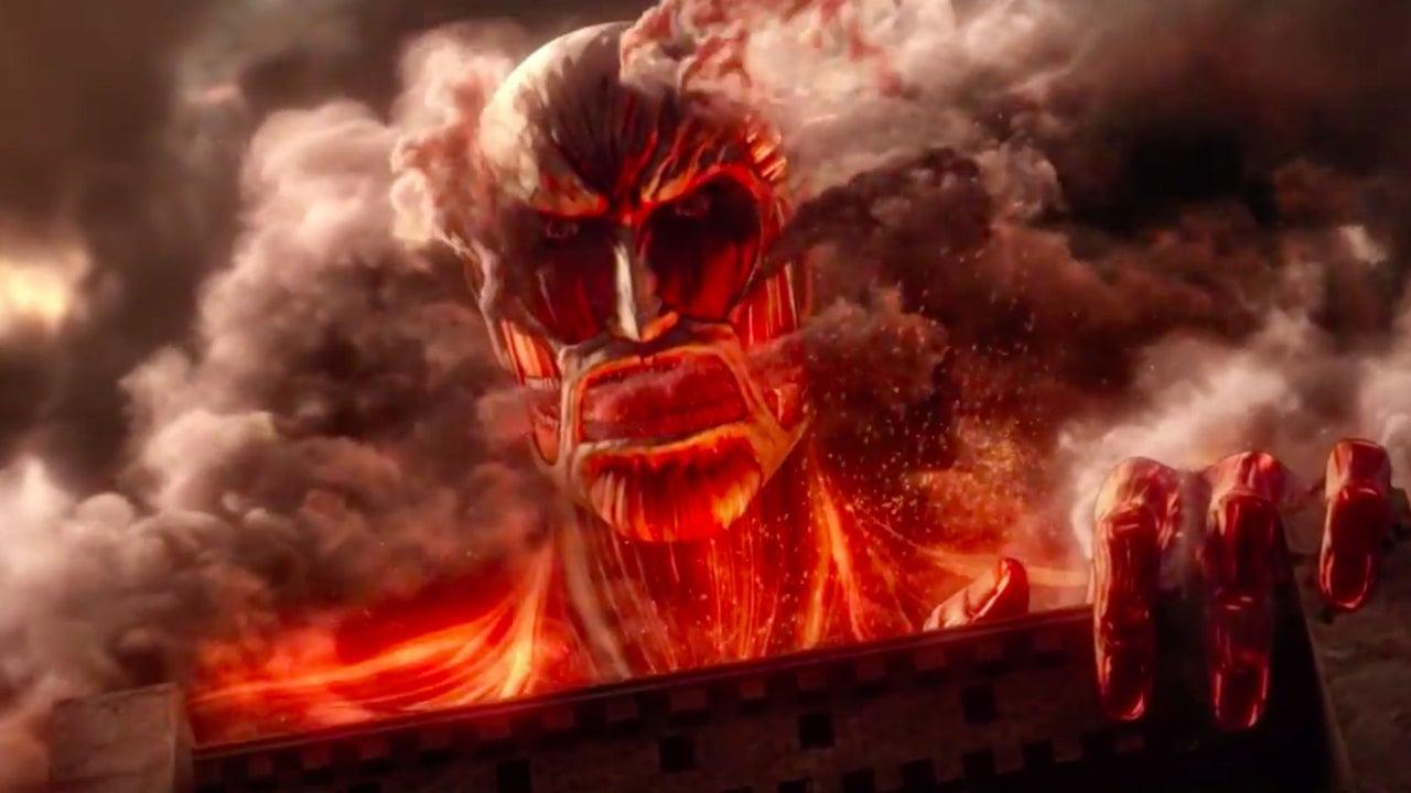 Attack On Titan TGS 2015 Trailer IGN Video