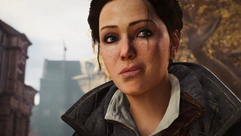 Evie Frye, one of the main characters of Assassin's Creed Syndicate.