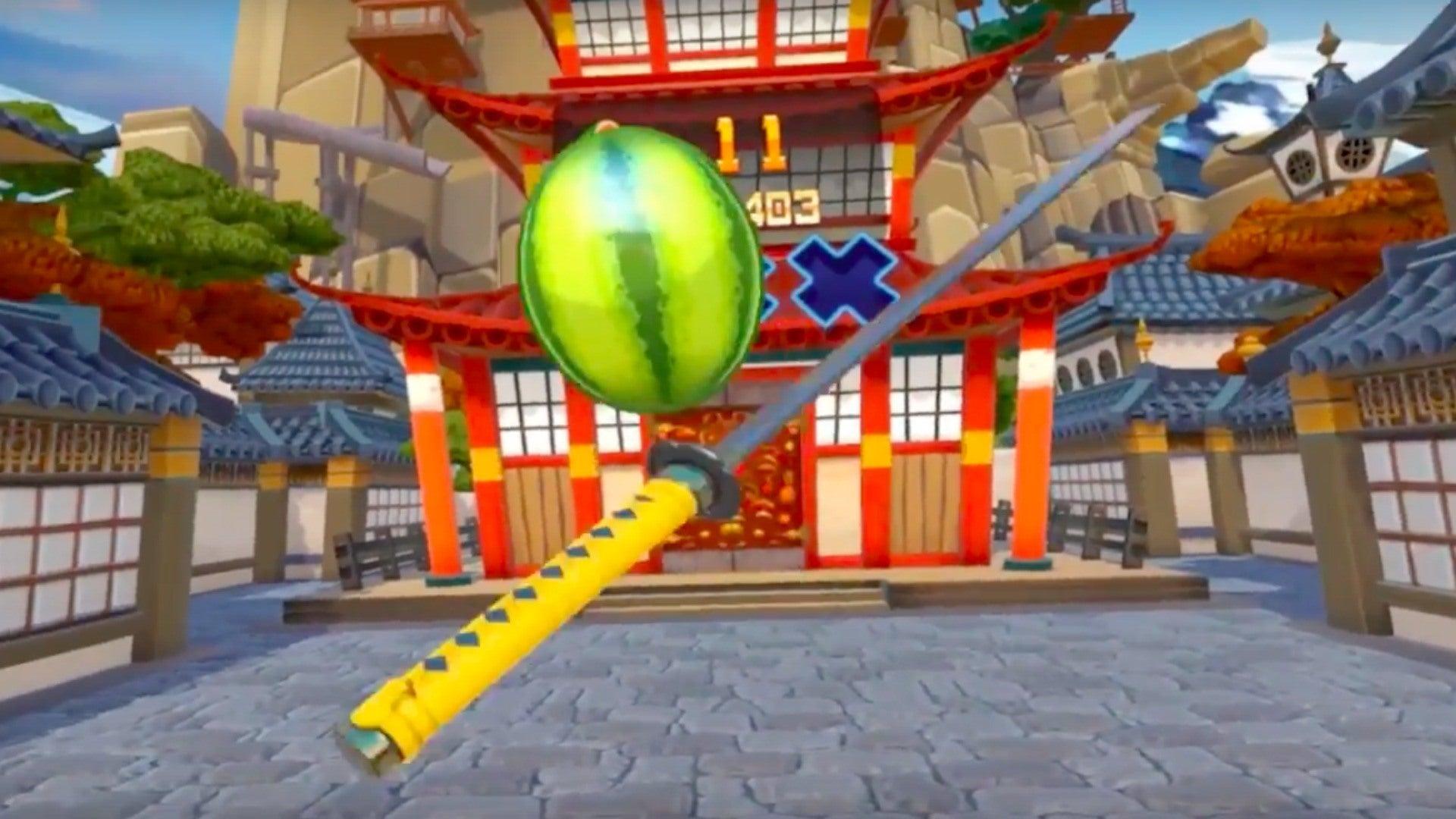 Fruit Ninja VR Videos Movies Amp Trailers PlayStation 4 IGN
