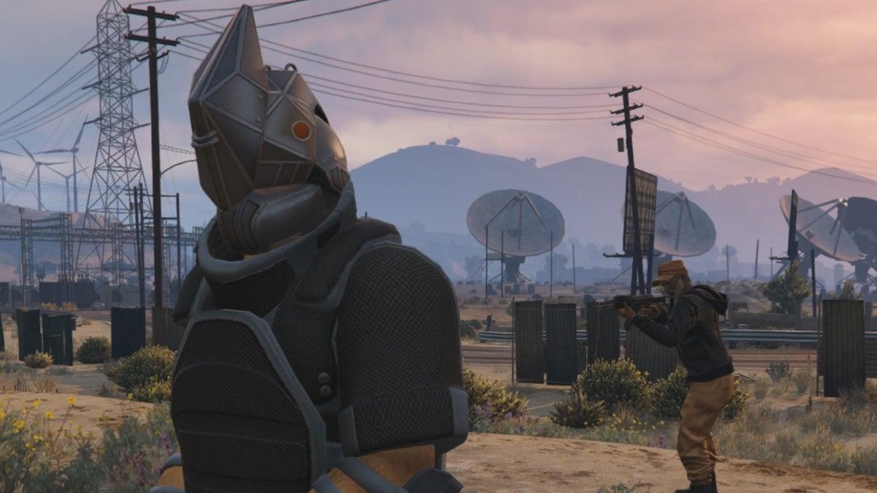 A Full Round Of GTA 5s New Juggernaut Adversary Mode