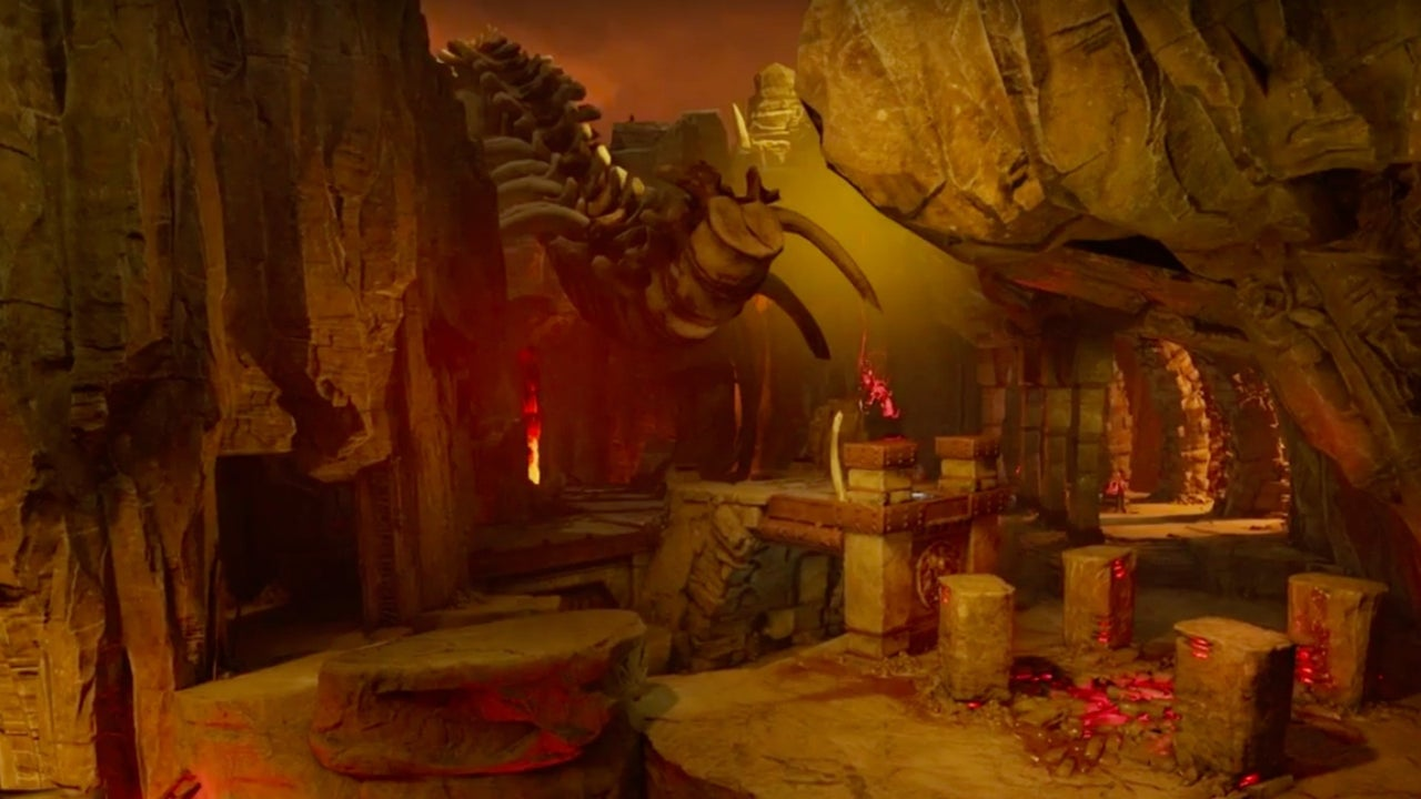 Doom Official Multiplayer Maps Explored IGN Video