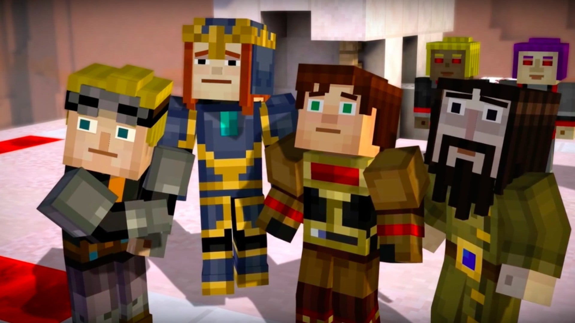 Minecraft Story Mode Episode 7 Videos Movies Amp Trailers PC IGN