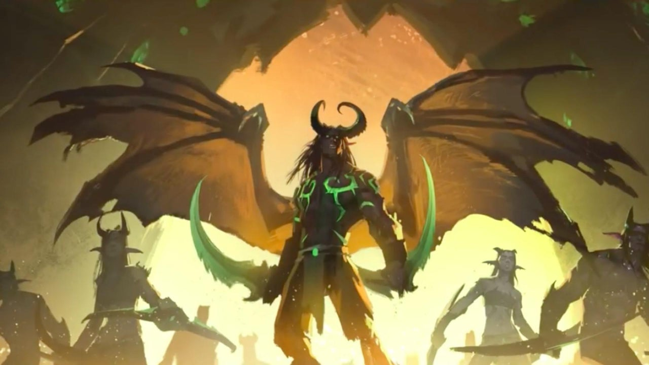 World Of Warcraft Legion Official Harbingers Teaser