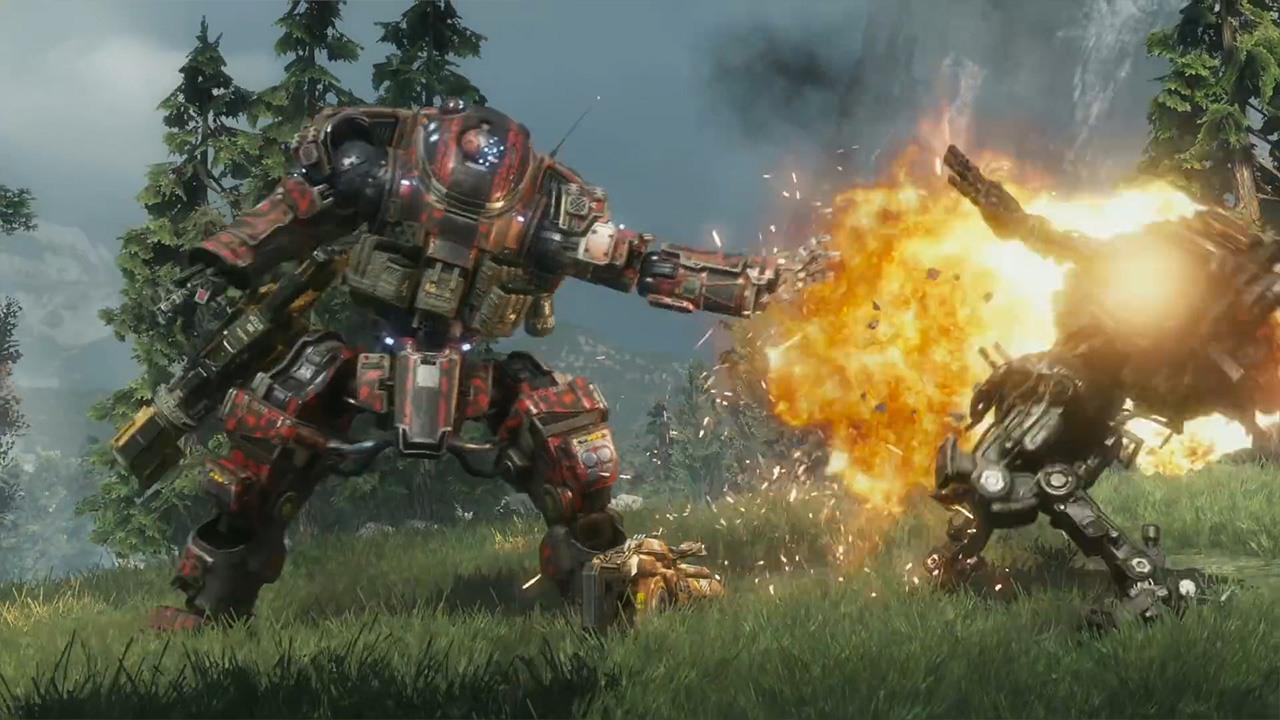 Epic Titan Fall Wallpaper Titanfall 2 6 Minutes Of Scorch Titan Gameplay Ign Video