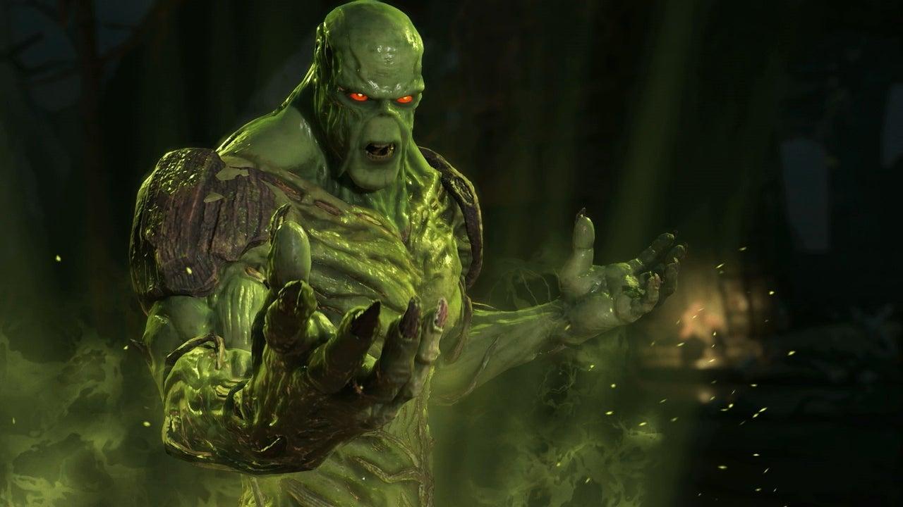 Mass Effect Animated Wallpaper Injustice 2 Swamp Thing Gameplay Walkthrough 1080 60fps
