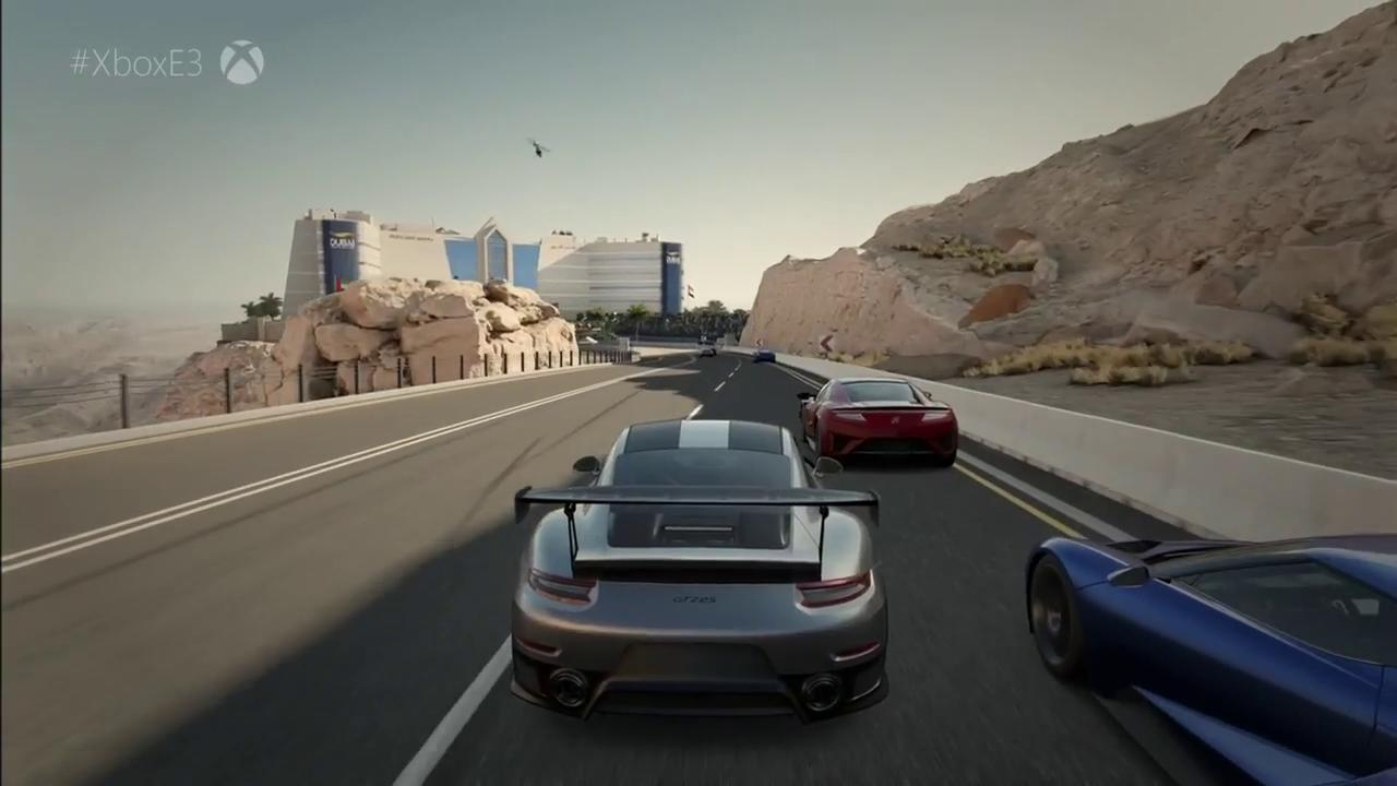 Forza Motorsport 7 First Look Xbox One X Gameplay  E3