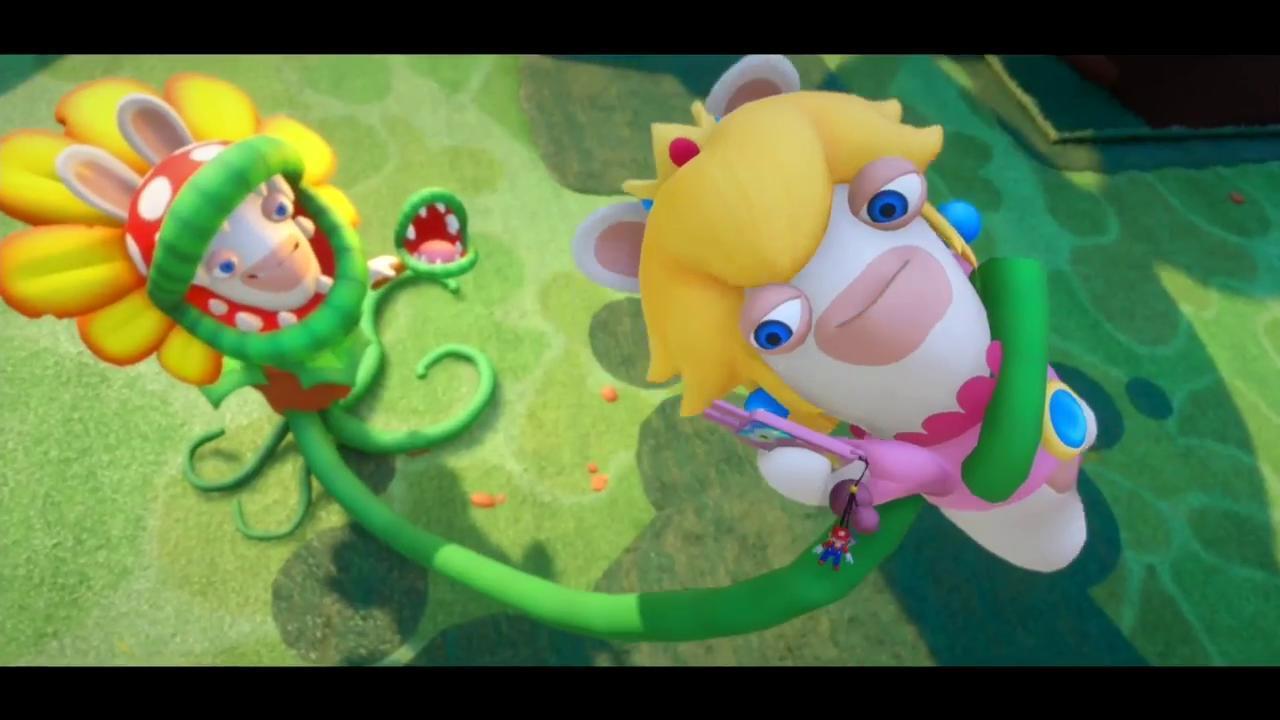 Mario Rabbids Kingdom Battle Trailer Starring Yves