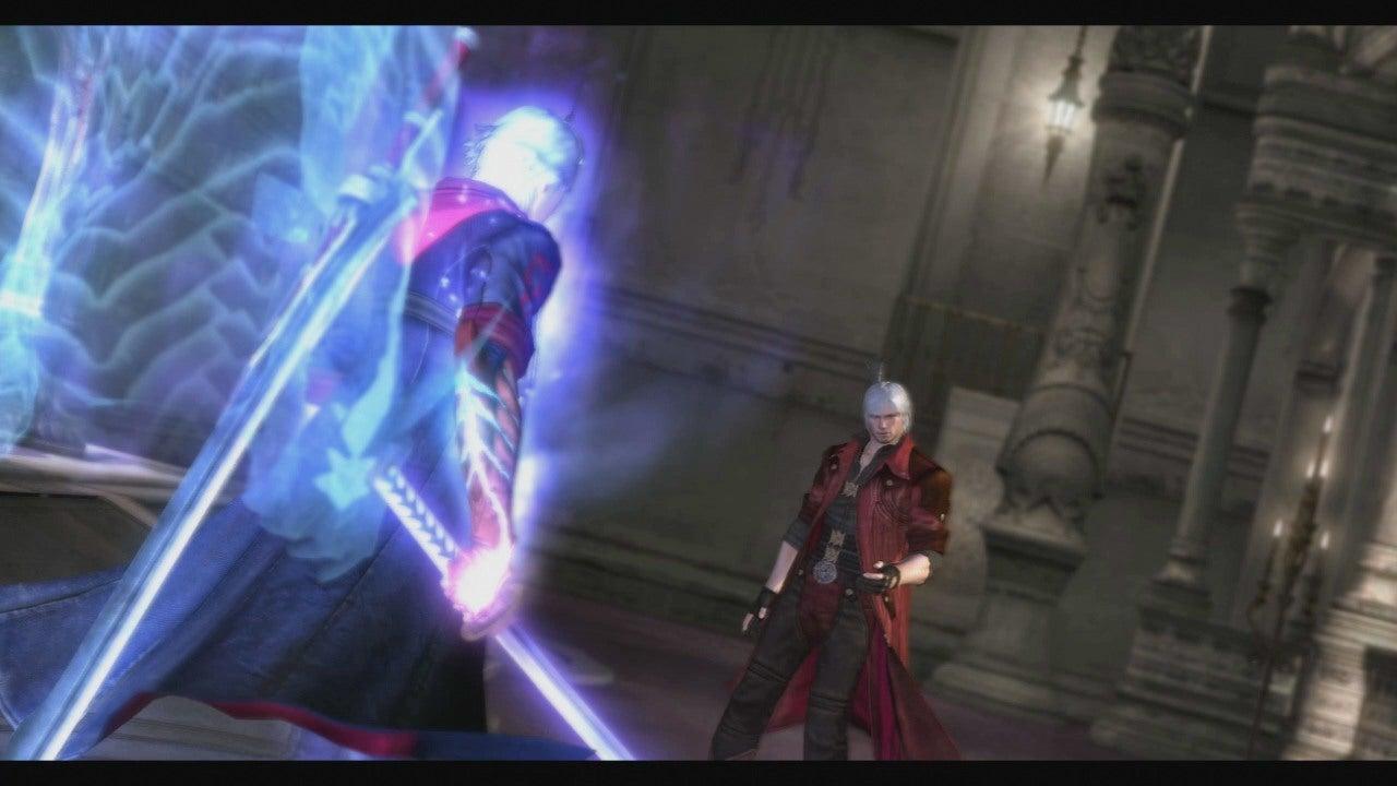 Devil May Cry 4 Nero Vs Dante Round 2 Gameplay IGN Video